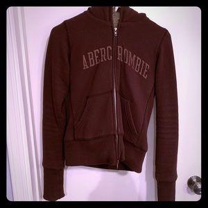 Brown fur interior jacket